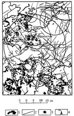 районе падения Тунгусского